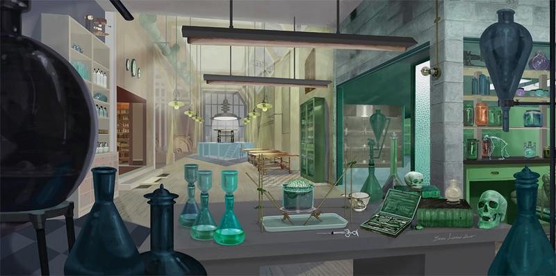 CONCEPT DESIGN   Photoshop<br /> Project: The Laboratory