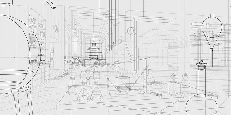CONCEPT DESIGN | Illustrator<br /> Project: The Laboratory