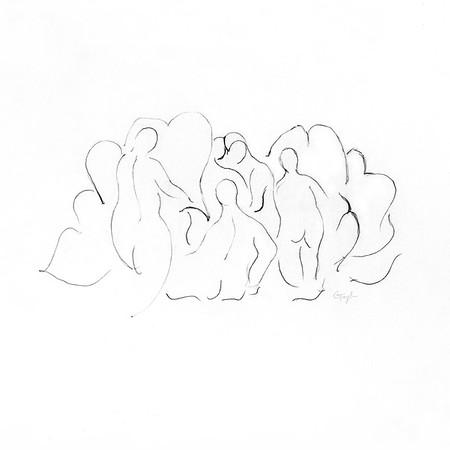 Nudes in Landscape II