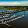 Panorama from Brittlebank Park, Charleston