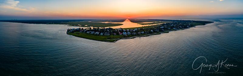 Sullivan's Island at Sunrise