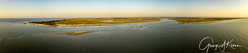 FROM THE MORRIS ISLAND LIGHTHOUSE