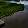 B. Everett Jordan Dam at the Jordan Lake  Haw River release point ll 4.20.2020