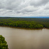 On the right the Haw enters Jordan Lake. Robeson Creek basin is left. ll April 30, 2020