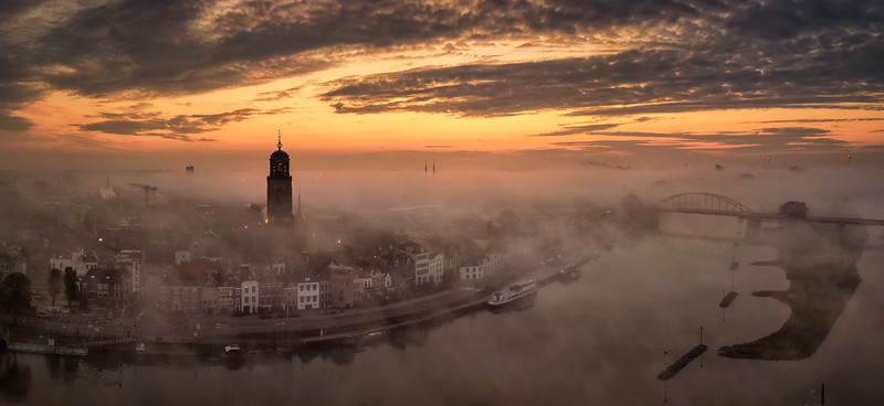 Deventer from above