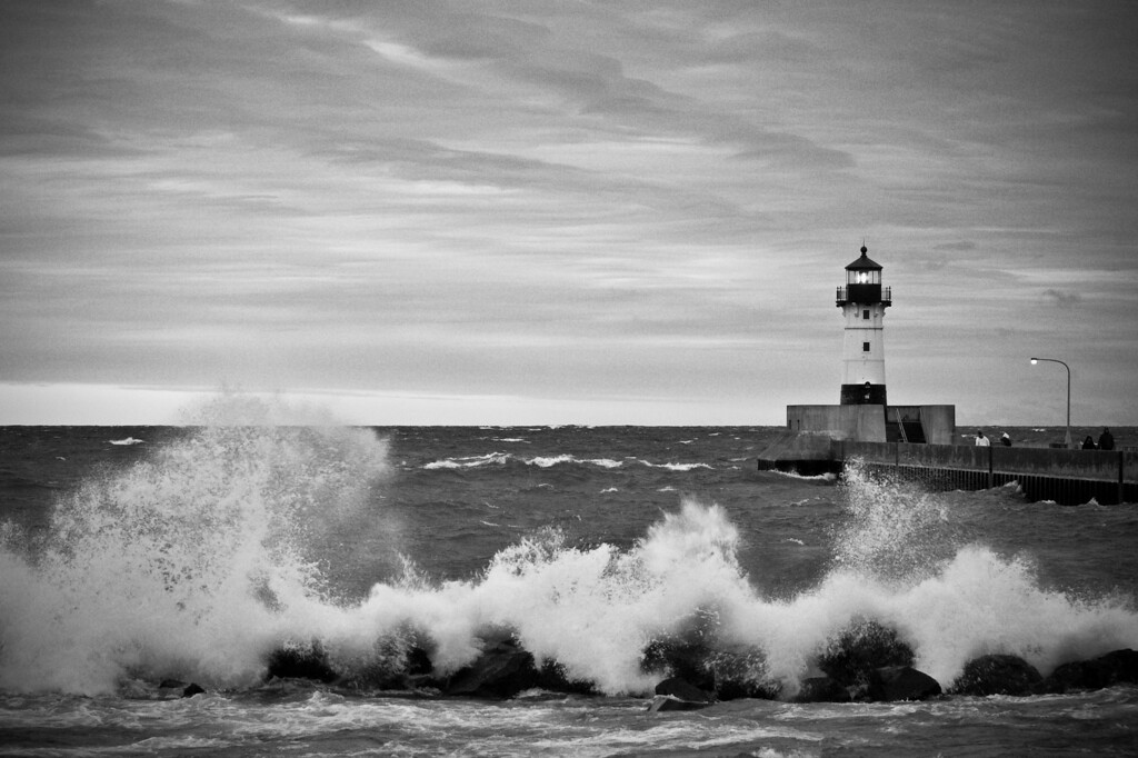 Harbor Lighthouse in Duluth, MN