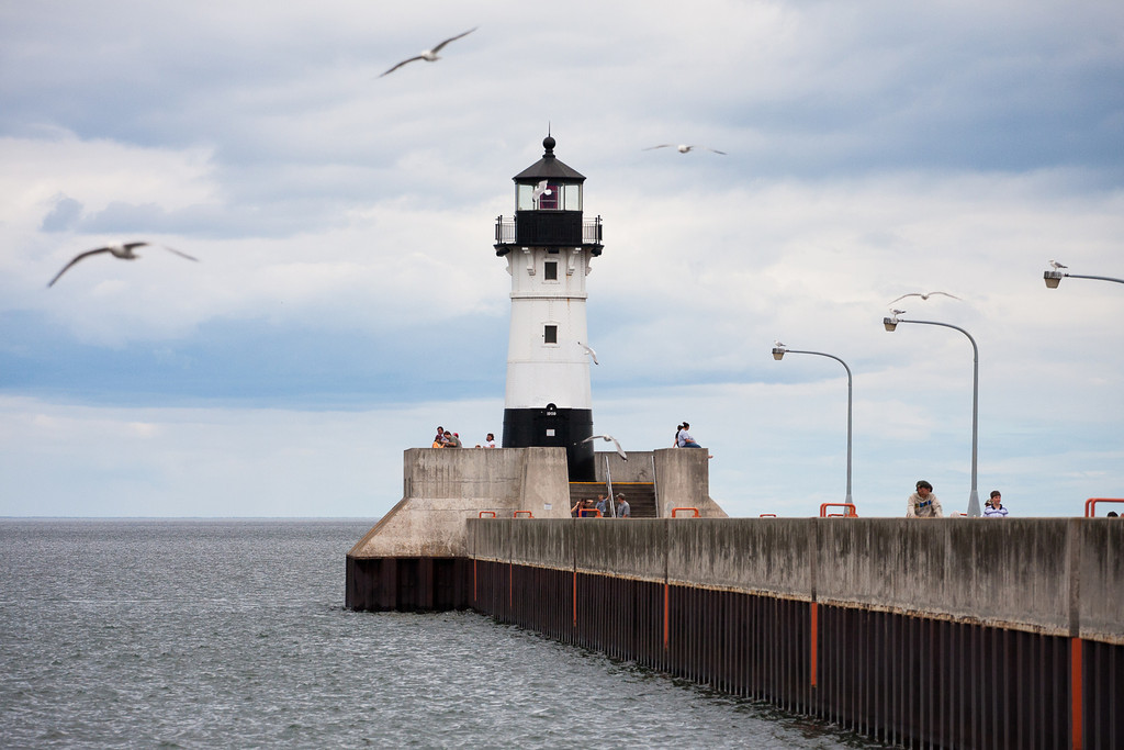 Duluth Harbor Lighthouse - Summer
