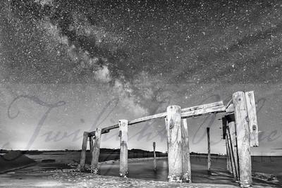 Milky Way over Cooks Beach