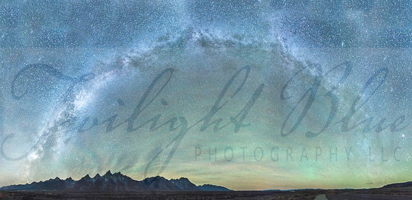 The Wonderous Milky Way over the Grand Tetons