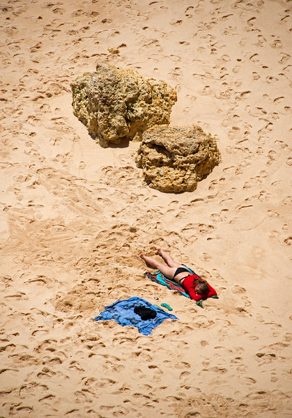 Cathedral Beach Algarve Portugal