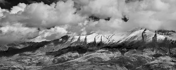 Telluride Fall Snow