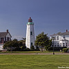 Old Point Comfort Lighthouse, Fort Monroe, Hampton Roads, VA