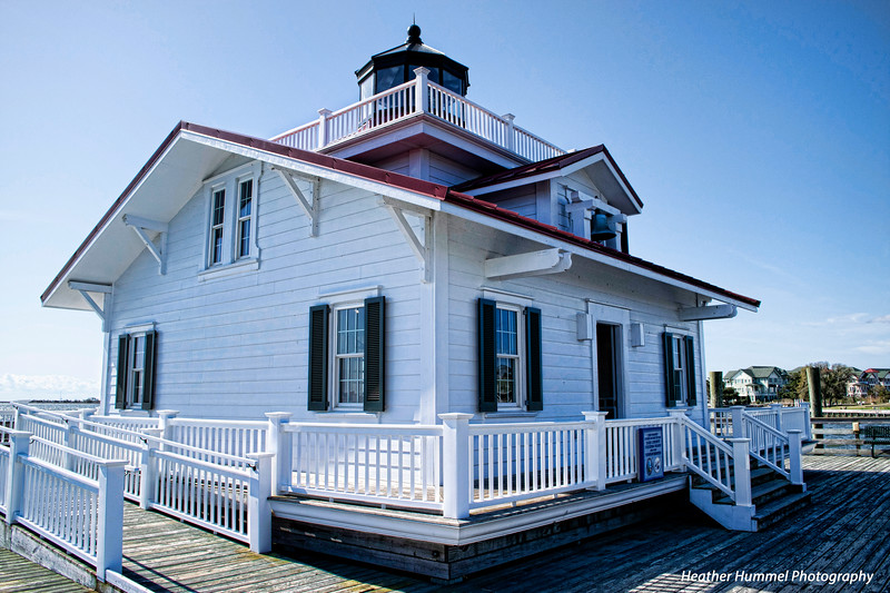 Roanoke Island Lighthouse, Outer Banks, NC