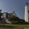 Old Point Comfort Lighthouse, Fort Monroe, Hamtpon Roads, VA