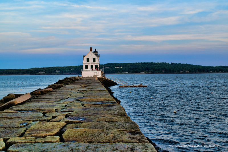 Breakwater Lighthouse Rockland, Maine Summer 2019