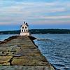 Breakwater Lighthouse Rockland, Maine Summer 2019