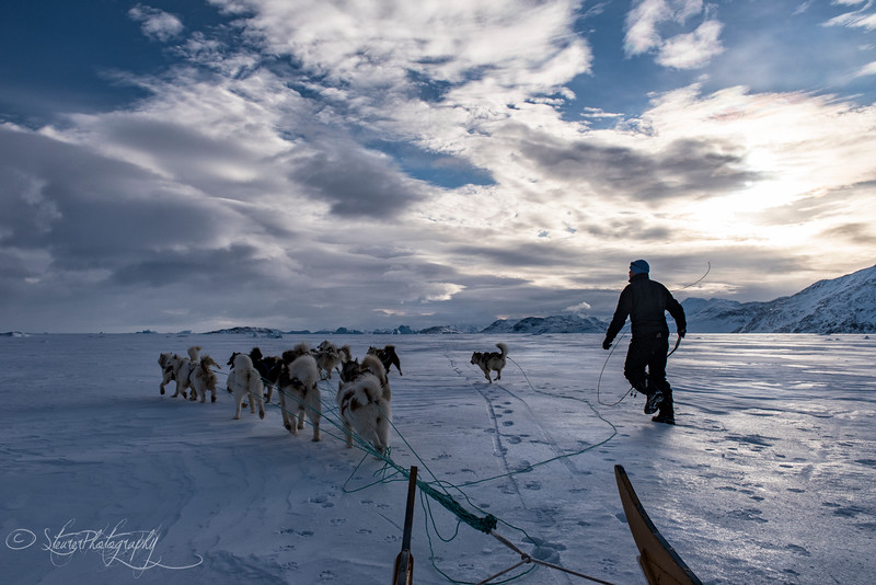 Rushing home - East Greenland 2016