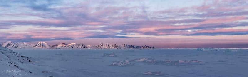 Ice Moon - Tiniteqilaaq, East Greenland 2016