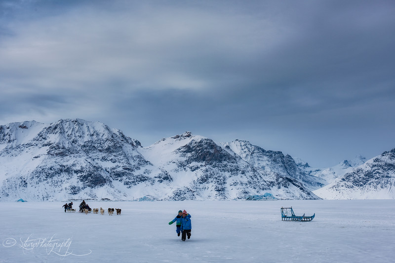 Afternoon play - Sermiligaaq, East Greenland 2016