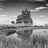 The classic view of Whitby Abbey.