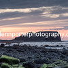 Enjoying the sunset from the top of Saltwick Nab, at Saltwick Bay, Yorkshire.