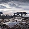 Saltwick Nab at Saltwick Bay, Yorkshire.