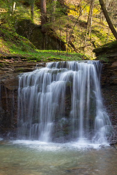 Piatt Park Waterfall 5154