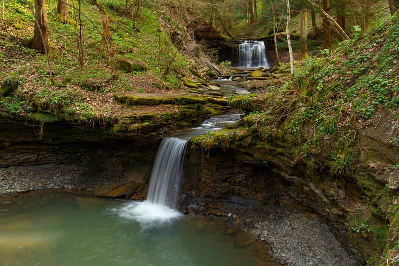 Piatt Park Waterfall 5175