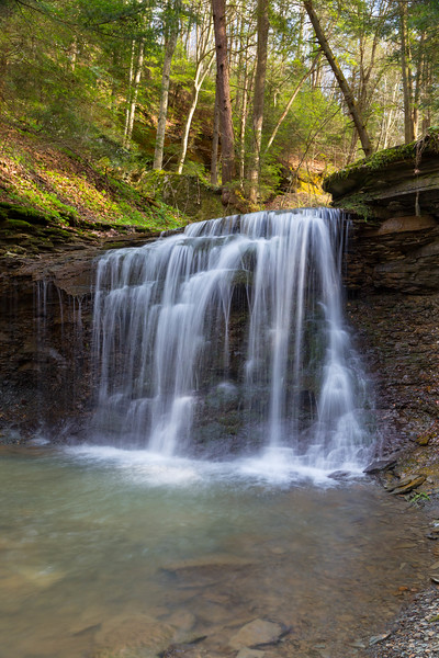 Piatt Park Waterfall 5157