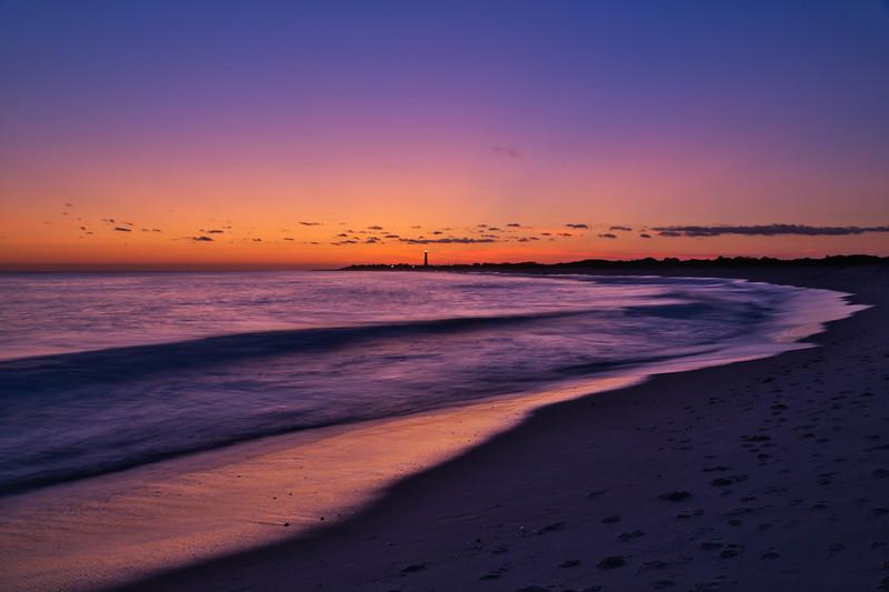 Cape May Cove Beach Sunset 2538L