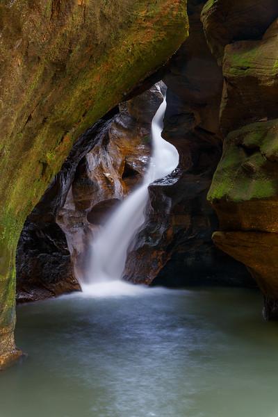 Ohio Waterfall 5493