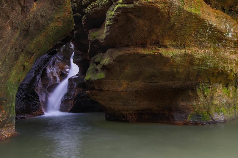 Ohio Waterfall 5511