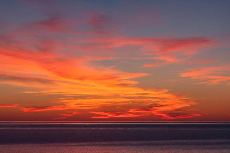 Lake Michigan Sunset 0938C1
