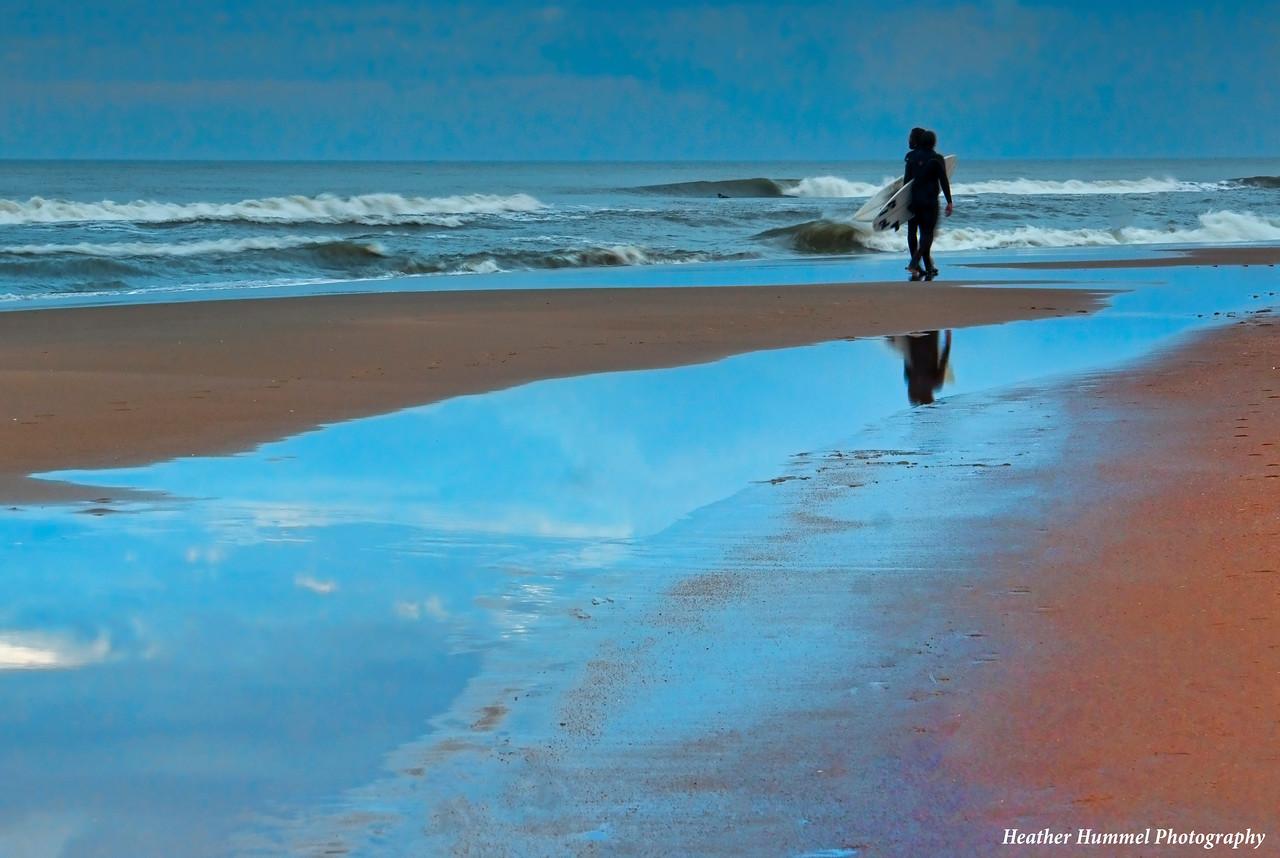 Passing Surfers, Virginia Beach, VA