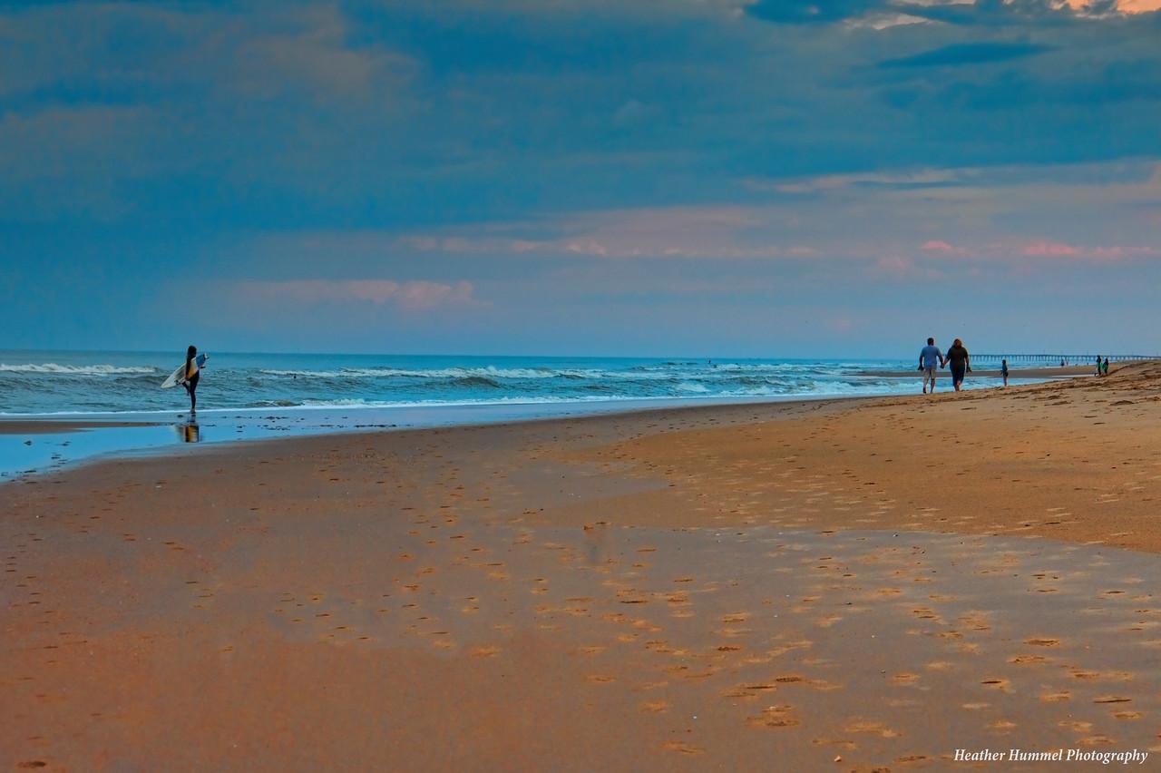 Distant Pier, Virginia Beach, VA