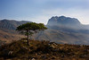 Mountain of Slioch. Wester Ross.