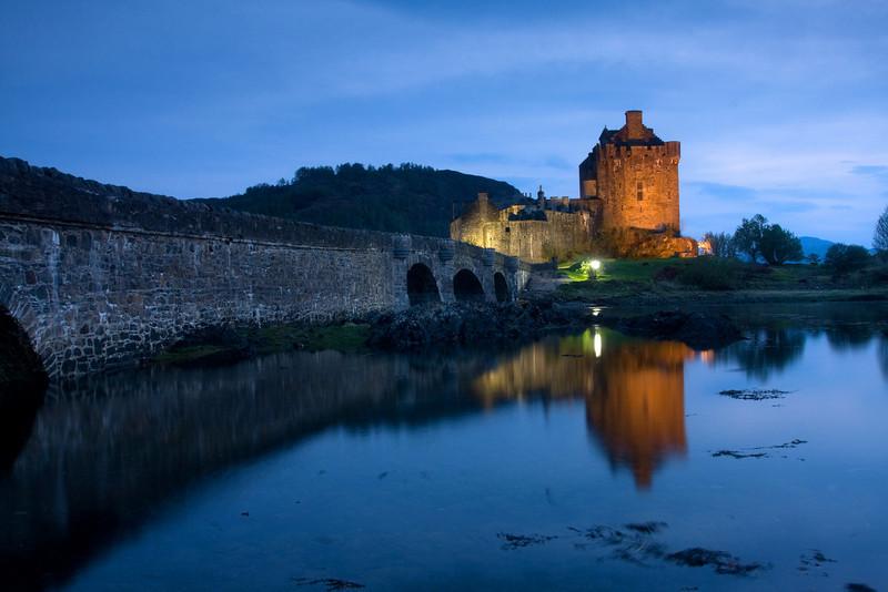 Eilean Donan Castle. John Chapman.