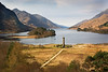 Glenfinnan Monument with Loch Shiel.