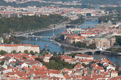 Overlooking part of Prague