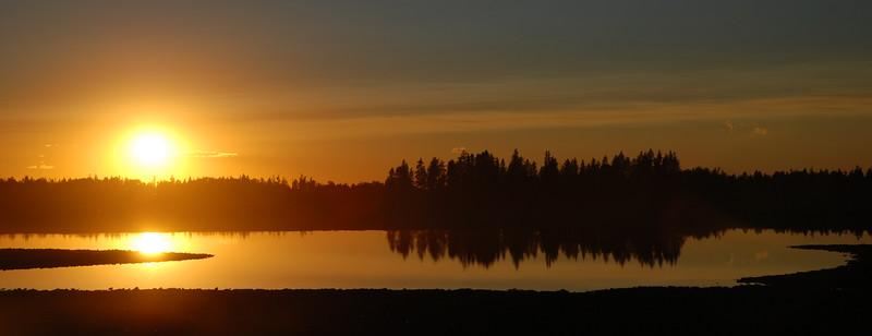 Indian Lake, Idaho, Wyoming