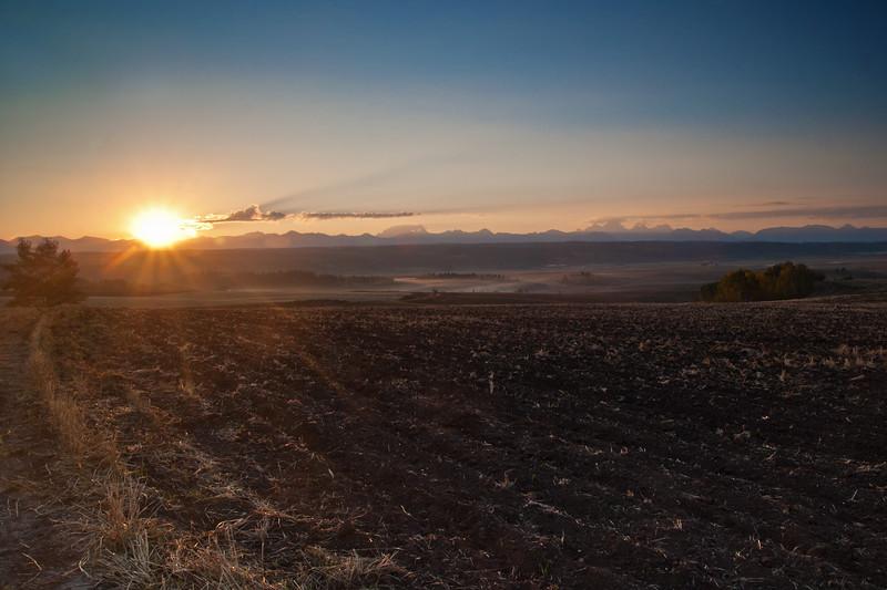 Fall Teton Sunrise