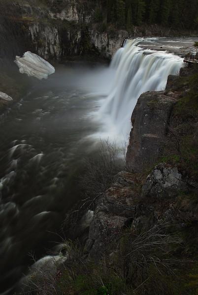 Mesa Falls: Evening