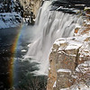 Mesa Falls: Winter, Idaho