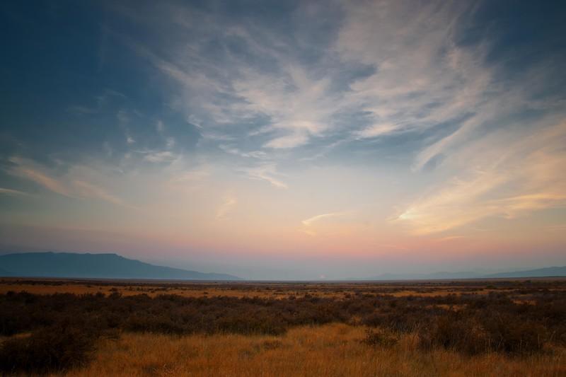 Centennial Valley: Sunset