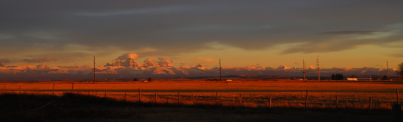 View from Highland Street <br /> Ashton, Idaho