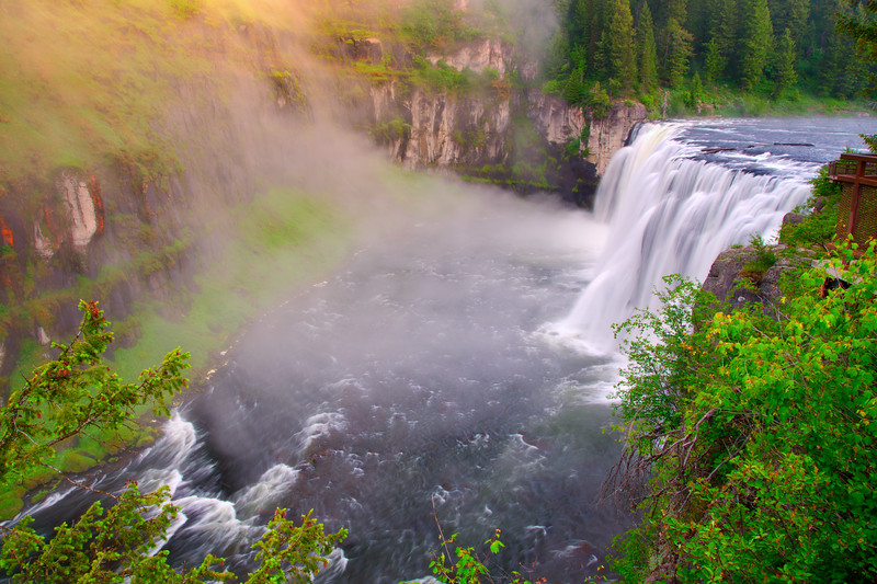 Upper Mesa Falls, Idaho - June
