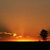 Sunset near Ashton, Idaho