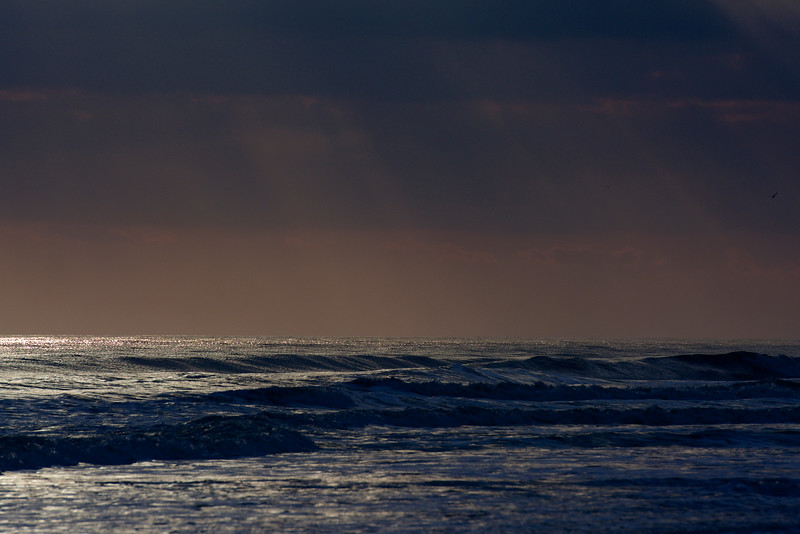 the sea, with sunlight ~ Southern Outer Banks