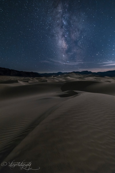 Moonlight Eureka Dunes - Death Valley, CA