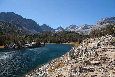 Rock Creek Lakes, Eastern Sierra